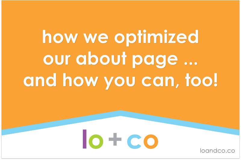 How we optimized our about page … and how you can, too!