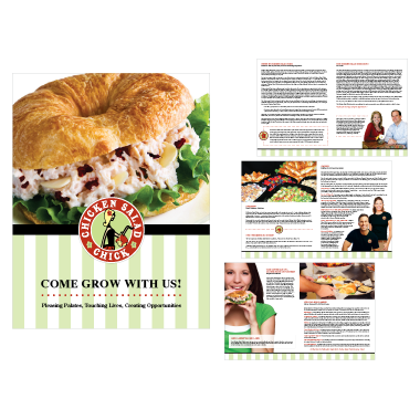 Chicken Salad Chick Marketing Brochure Design