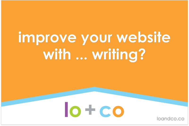 Improve your website with … Writing?